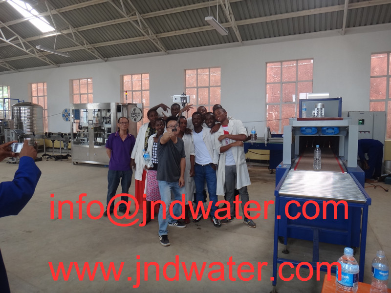 JD WATER-Read Shenzhen Jd Drinking Water Install 3000-4000bph Bottled