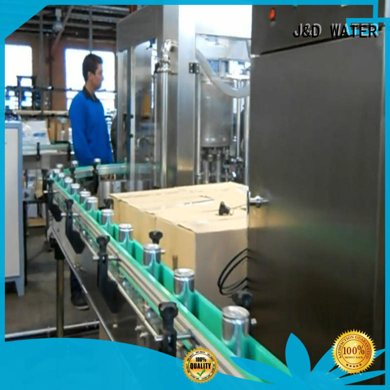 energy saving canning equipment high automation for pure water