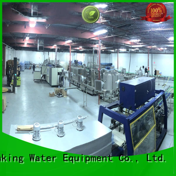 easy operation bottled water production machines good quality for pure water J&D WATER