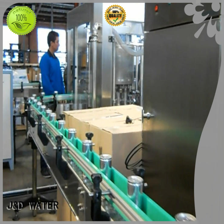 J&D WATER canning equipment stainless steel for juice