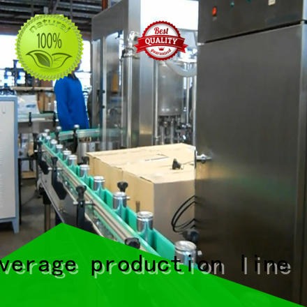 beer canning machine complete function for oil J&D WATER
