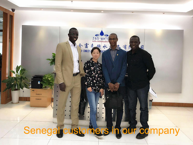 Senegal customers in our company