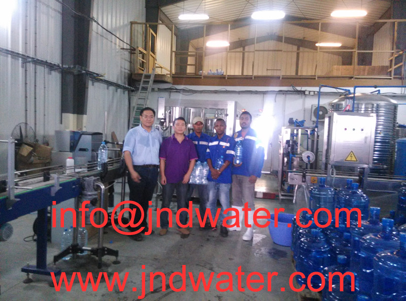 JD WATER-News About Shenzhen Jd Drinking Water Install 120bph Barrel