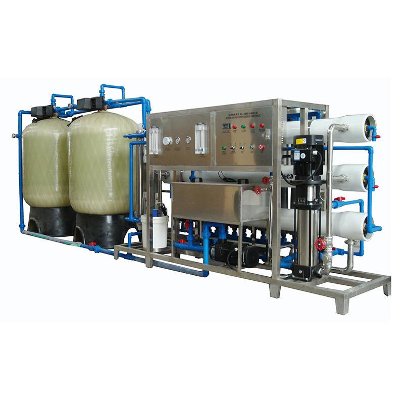 Tratamiento de agua por ósmosis inversa