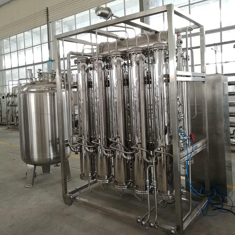 Machine de distillateur d'eau de luxe JNDWATER en acier inoxydable