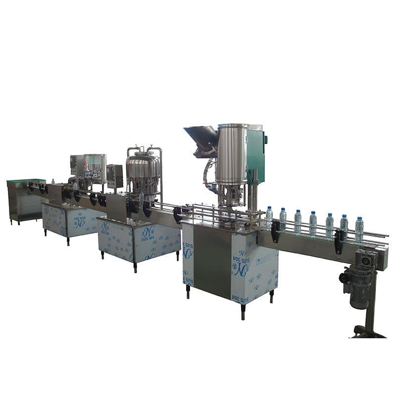 1000-2000bph المعبأة في زجاجات آلة تعبئة المشروبات