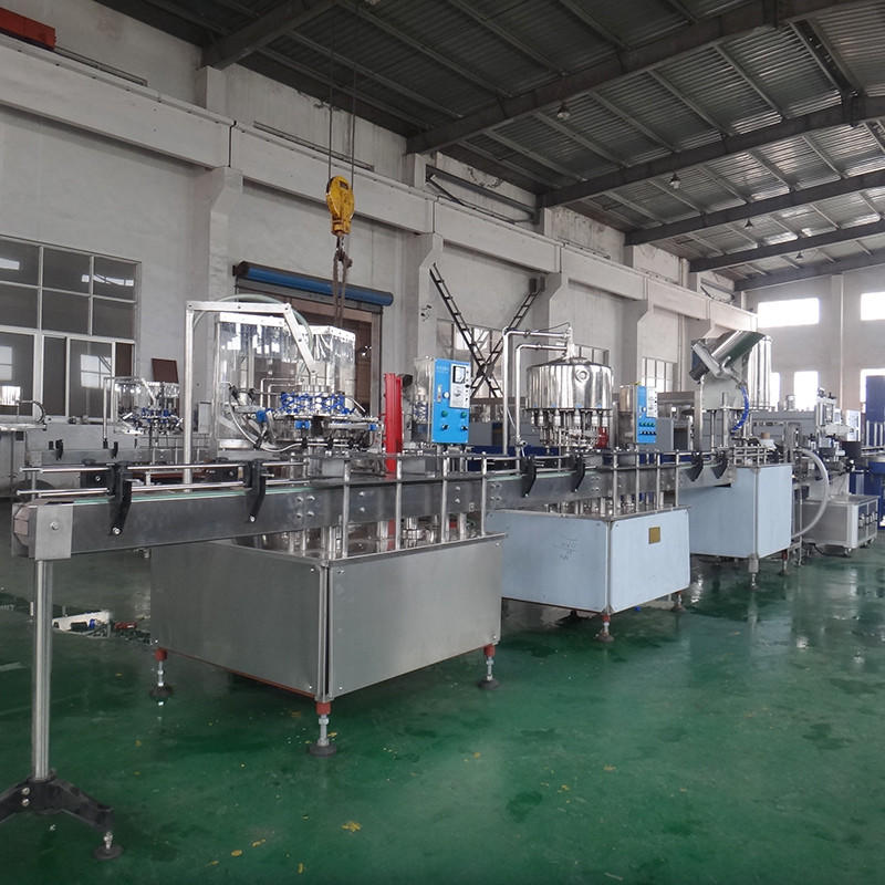Custom sale fully bottle capping machine J&D WATER filling