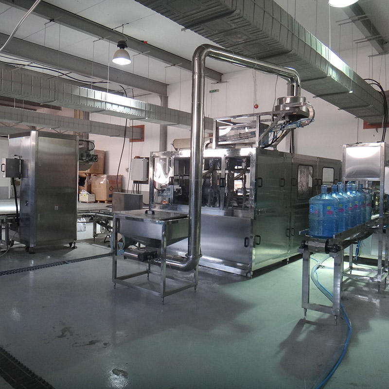 5 Gallon Bottle Washing Filling Capping Bottling Machine
