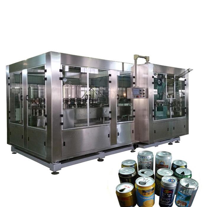1000-20000cph Can Filling Sealing Machine