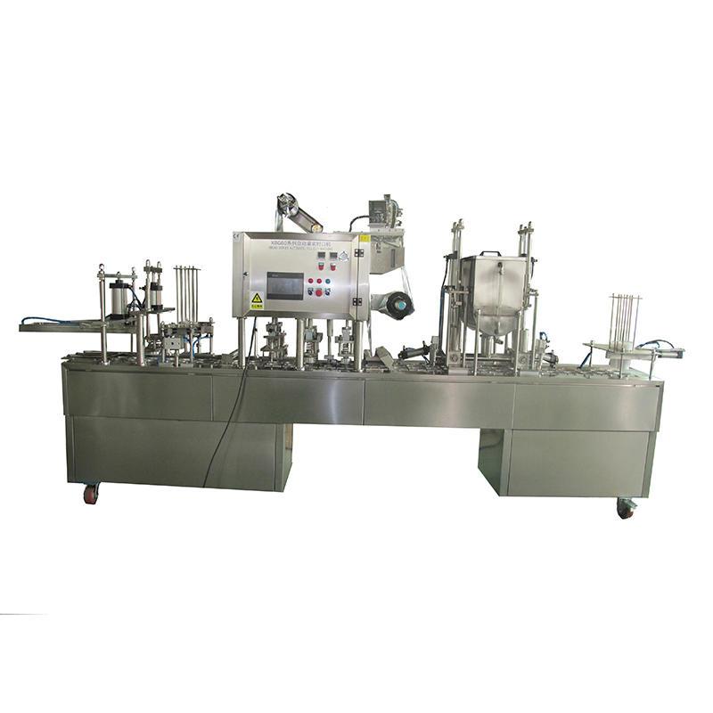 герметизирующий стакан разливочный автомат автомат J & D WATER