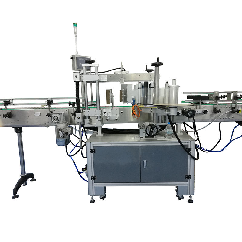 selfadhesive bottle self adhesive labeling machine label automatic J&D WATER company