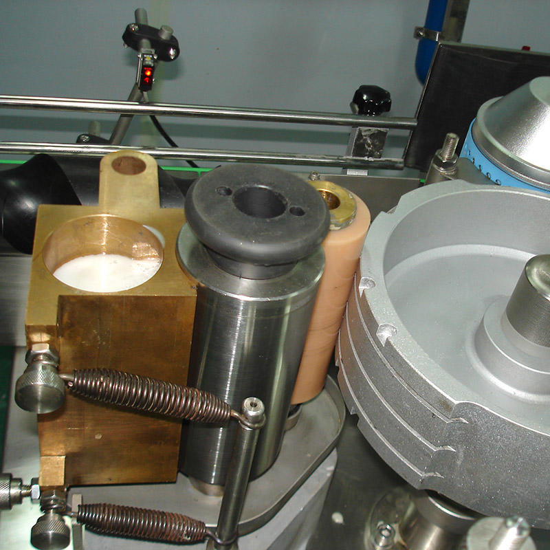 التلقائي آلة لصق زجاجة الغراء البارد
