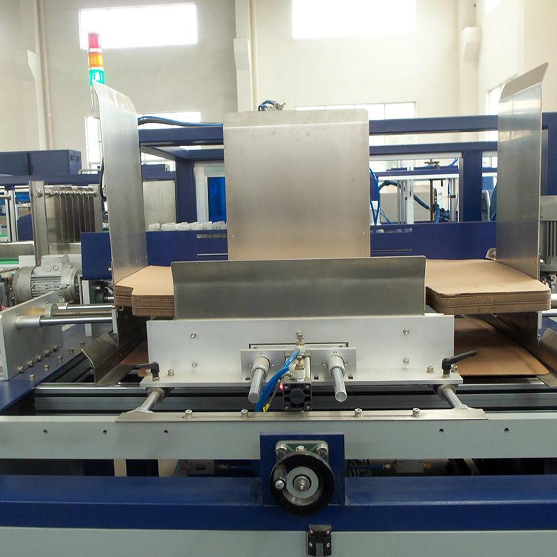 JNDWATER Automatic Wrap Around Carton Packing Machine