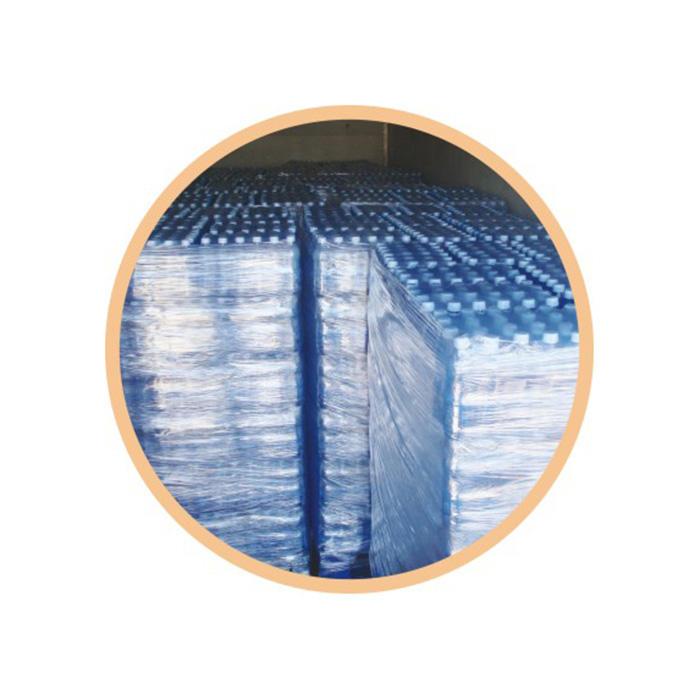 Empaquetadora de embalaje de paletas de estiramiento previo