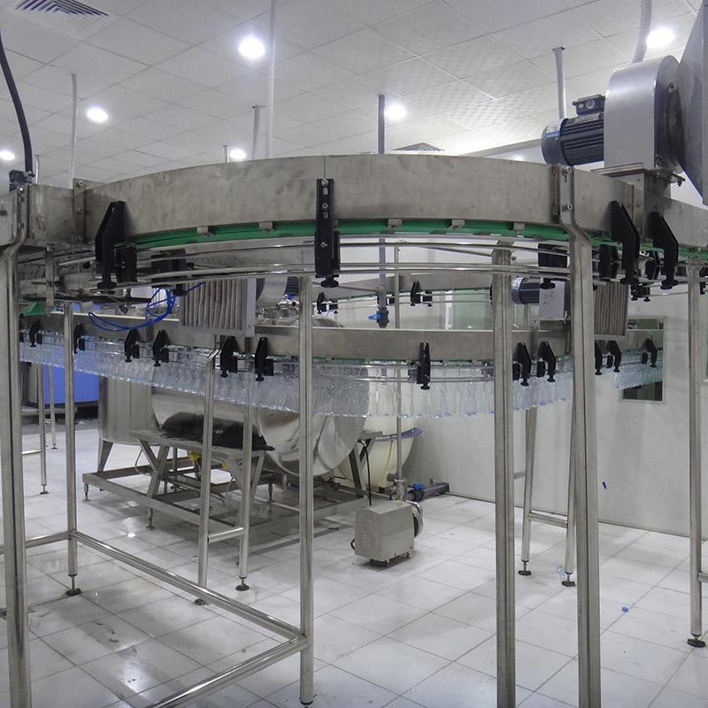 Beverage conveyor bottle air conveyor for filling machine filling line