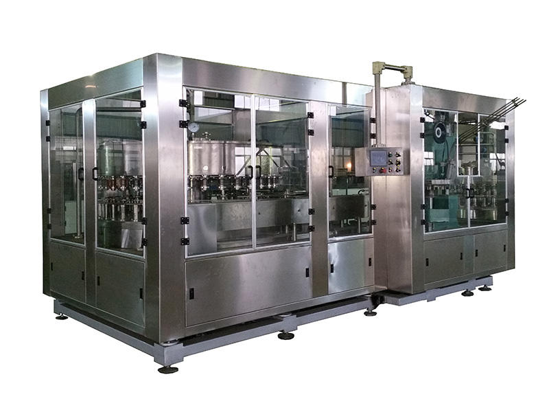 intelligent canning equipment stainless steel for pure water