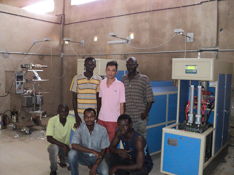 2000BPH bottled vinegar line has been installed in Senegal