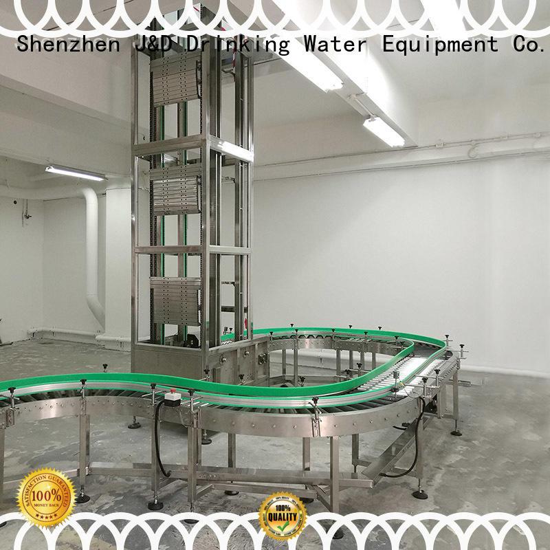 Качественный J & D WATER Бренд конвейер цепной конвейер