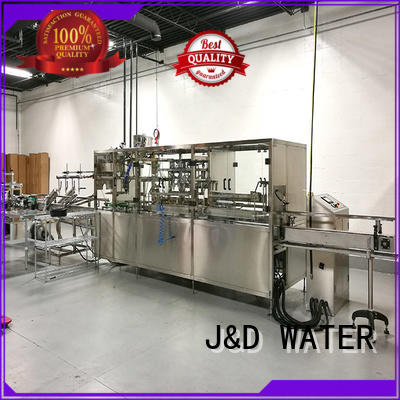 J&D WATER bottling line environmental protection for pure water