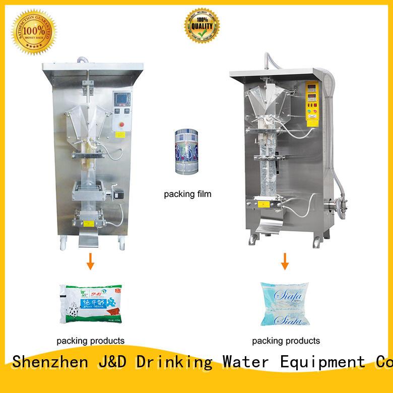 J & D WATER Бренд, заполняющий автоматическую упаковочную машину