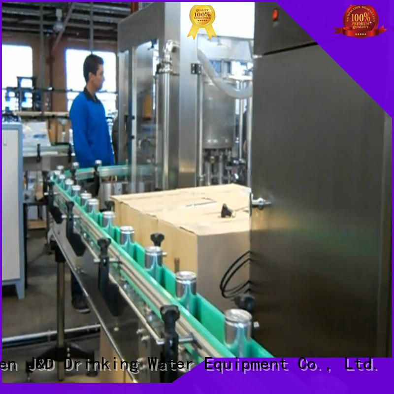 line beverage canning machine factory for juice J&D WATER