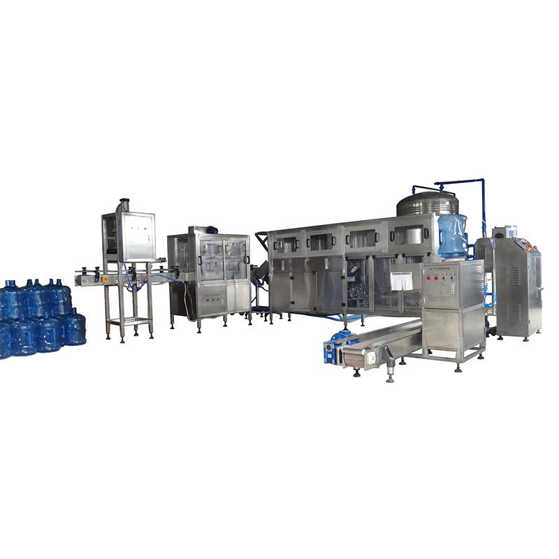 JD WATER-5 Gallon Bottle Washing Filling Capping Bottling Machine | 5 Gallon Bottle
