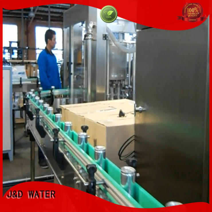 J&D WATER canning equipment factory for juice
