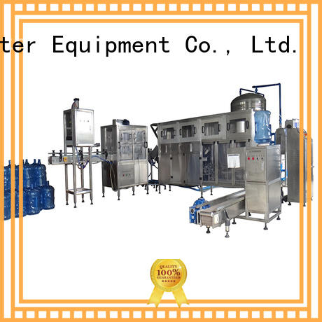beverage filling equipment barrel complete J&D WATER company