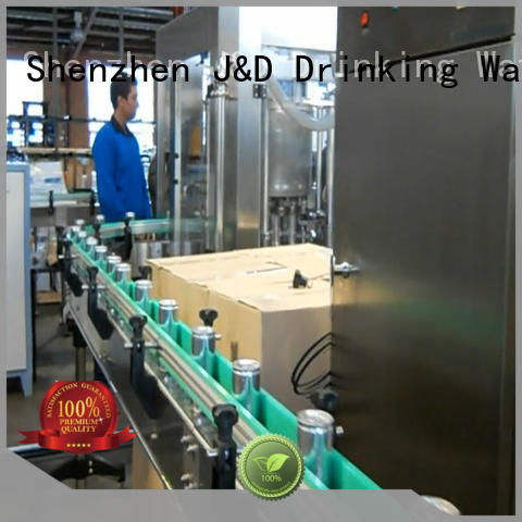 J&D WATER canning equipment convenient for juice