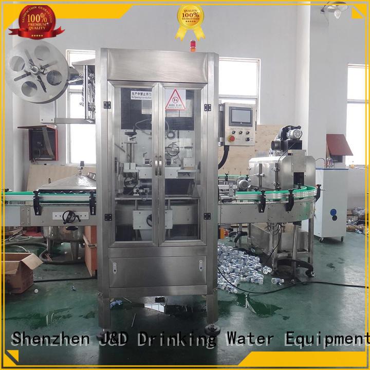 этикетка Машина для изготовления этикеток с втулкой на заказ J & D WATER