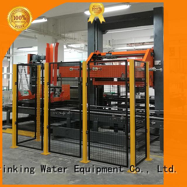 palletizer automatic depalletizer palletizer machine J&D WATER