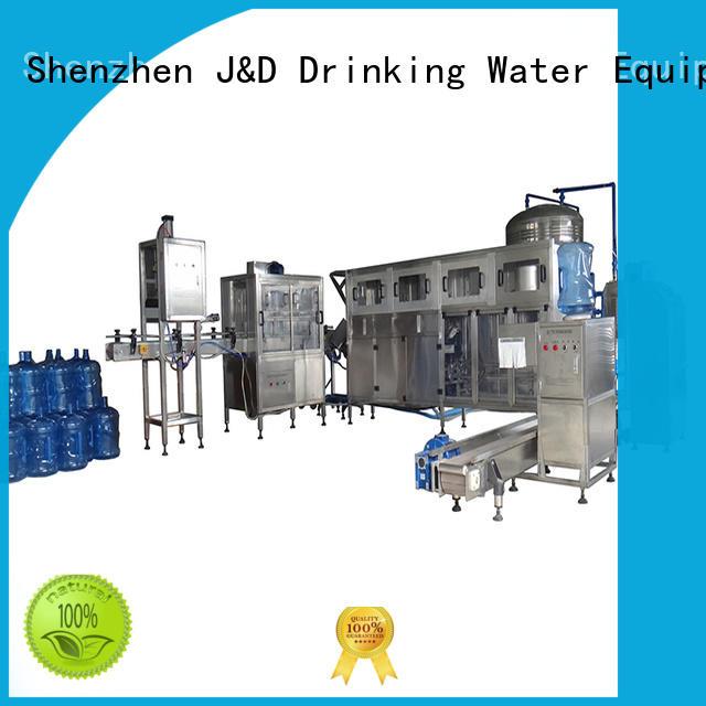 beverage production line beverage for oil J&D WATER