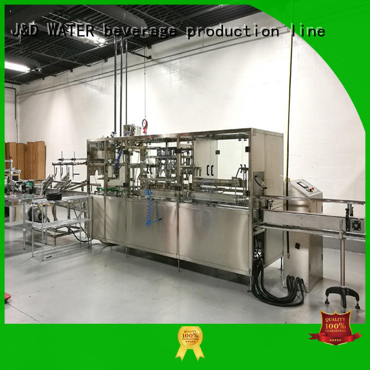 automatic bottling line environmental protection for mineral water