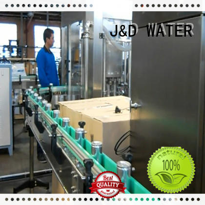 J&D WATER adjusted beer canning machine factory for juice
