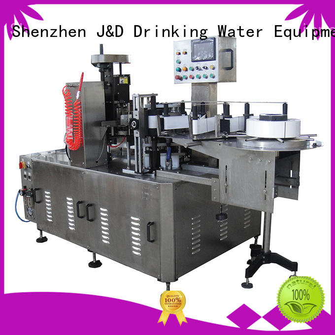 J&D WATER Brand automatic bottles bottle bottle filling and labeling machine machine