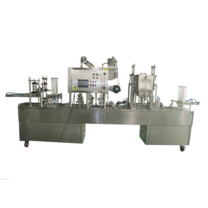 JD WATER-High-quality Automatic Cup Filling And Sealing Machine | Cup Filling And