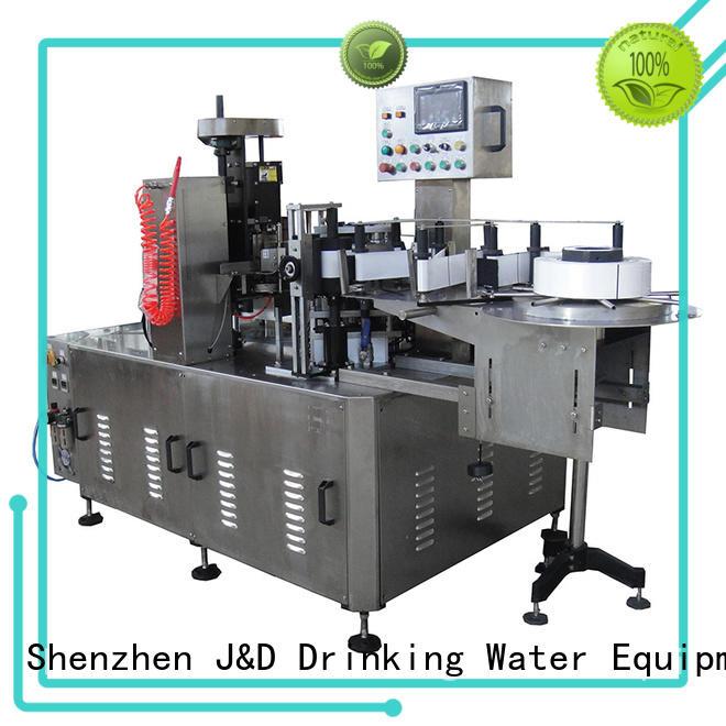 Машина для разметки бутылок с водой в бутылках J & D WATER