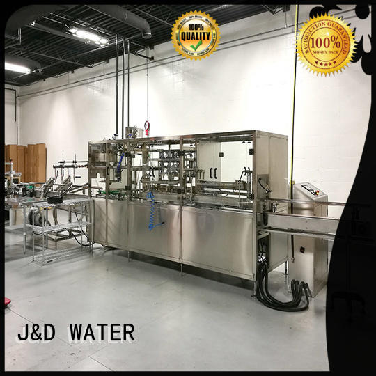 J&D WATER bottling line for sale for mineral water