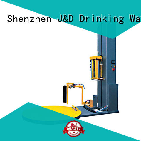 wrapping pallet wrapping machine packing J&D WATER Brand