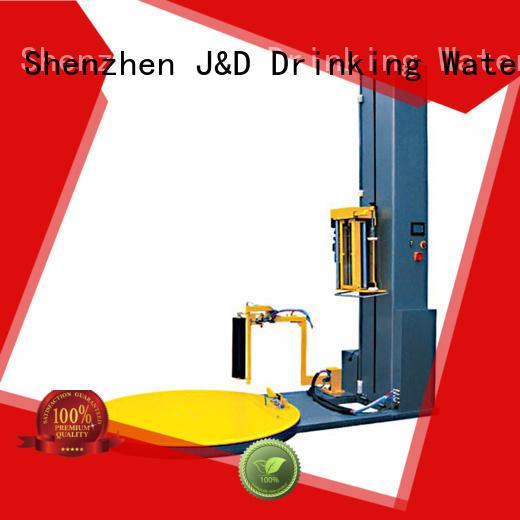 pallet shrink wrap machine machine pallet Warranty J&D WATER
