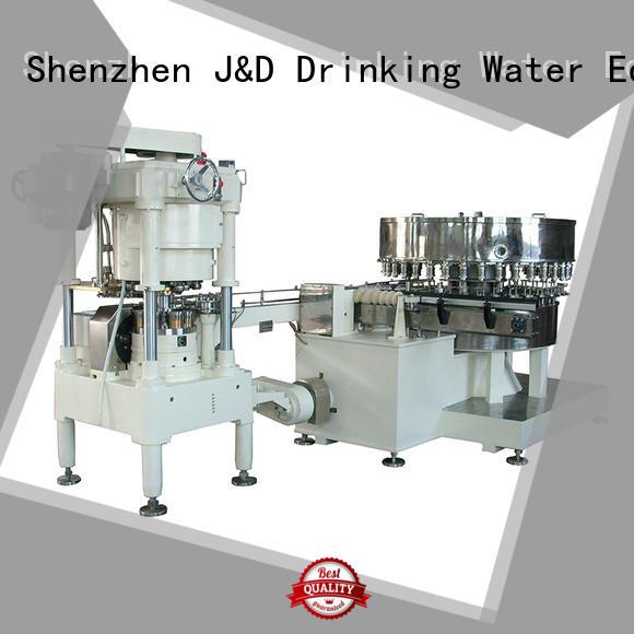 J & D WATER Марка машинной заправки консервной банки запайки