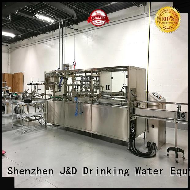 Wholesale bottle plastic bottling line J&D WATER Brand