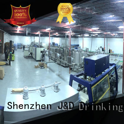 bottled water production machines product bottled water production line beverage J&D WATER Brand