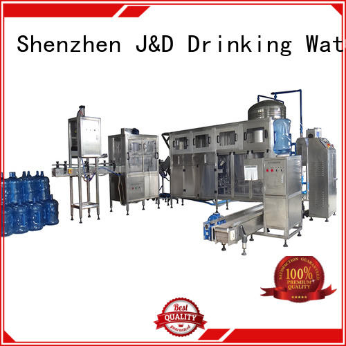 gallon water filling line complete mineral water J&D WATER