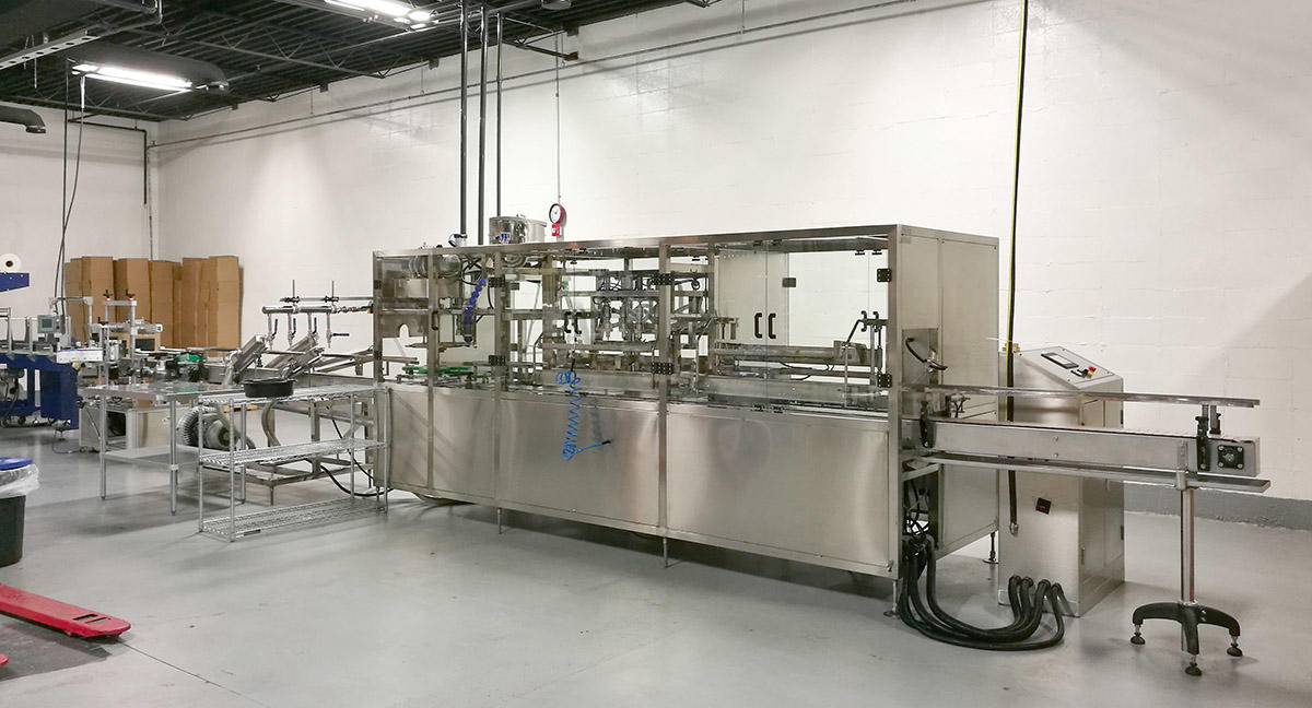 automatic bottling line for sale for oil-2