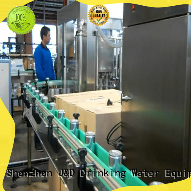 canning equipment line for juice J&D WATER