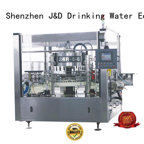 этикетировочная машина производитель этикетировочная бутылка Bulk купить клей J & D WATER