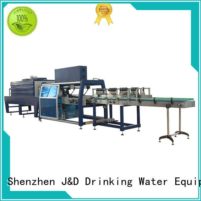 упаковочная упаковка J & D WATER Марка термоусадочных машин для продажи