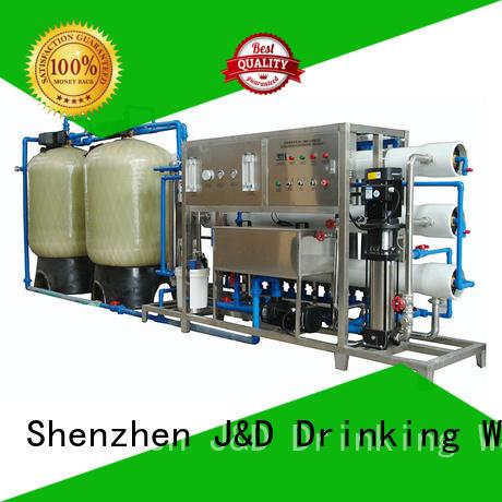 Качество J & D WATER Марка лечебной воды ro машина