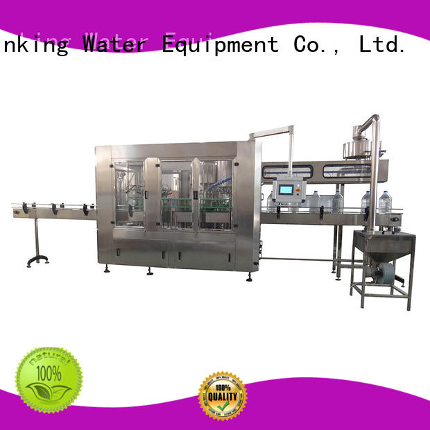 J&D WATER Brand bottle capping filling bottle filling equipment manufacture